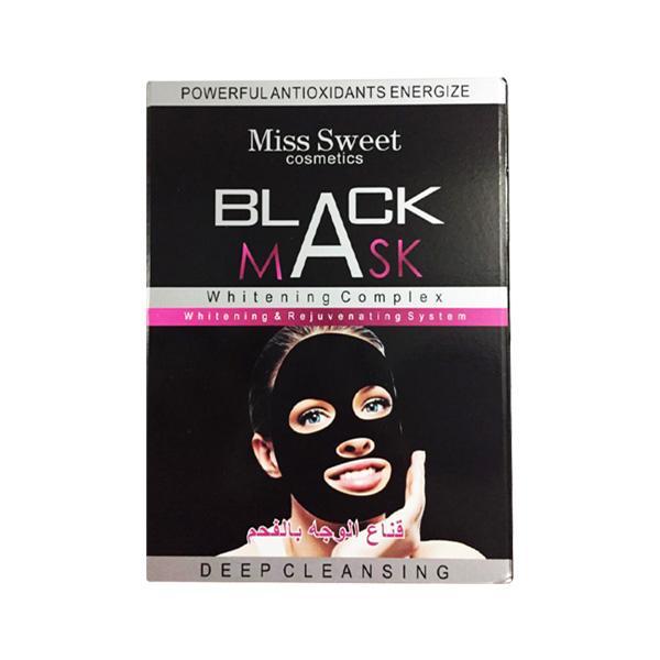 بلک ماسک ورقه ای صورت حاوی زغال و کربن فعال (Black Mask)