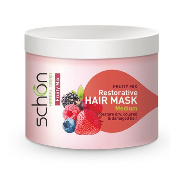 ماسک موی احیا کننده و درخشان کننده شون حاوی عصاره فروتی میکس حجم 300 میل