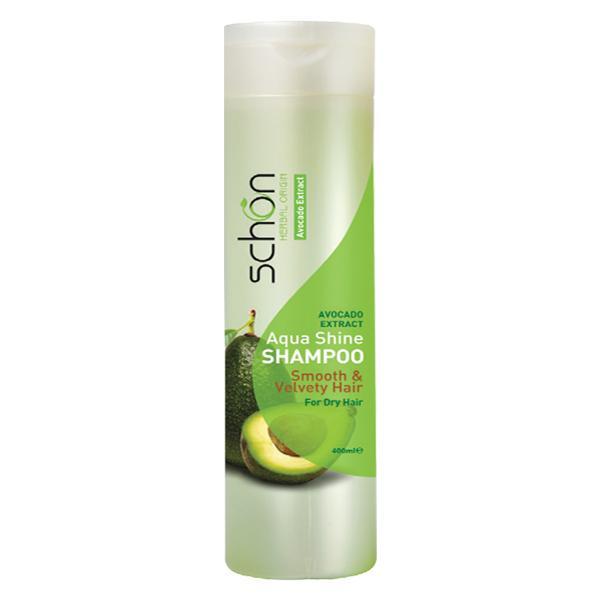 شامپو کرمی مرطوب کننده شون حاوی عصاره آووکادو مناسب برای موهای خشک 400 میل