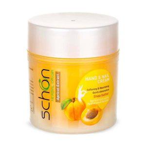 كرم دست و ناخن شون حاوی عصاره زردآلو مدل Apricot Extract حجم 150 میل