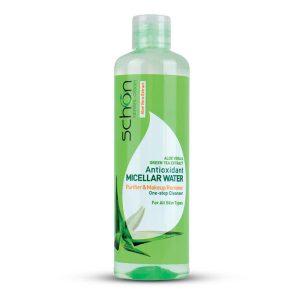 محلول میسلار پاک کننده آرایش صورت شون مدل Antioxidant Micellar Water حجم 300 میل