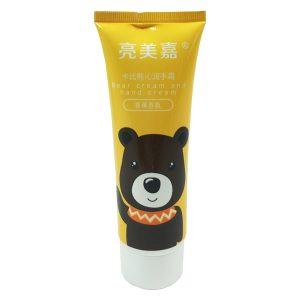 کرم مرطوب کننده و نرم کننده دست میشا مدل خرس