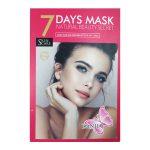 ماسک صورت ورقه ای مخصوص 7 روز هفته مدل آلبوم صورتی