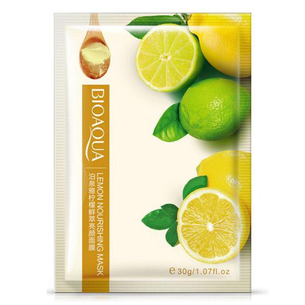 ماسک ورقه ای صورت بیو آکوا حاوی عصاره لیمو