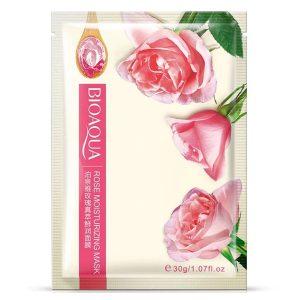 ماسک ورقه ای صورت بیو آکوا حاوی عصاره گل رز
