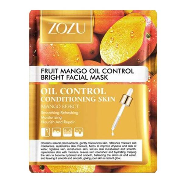 ماسک ورقه ای صورت زوزو مدل Mango